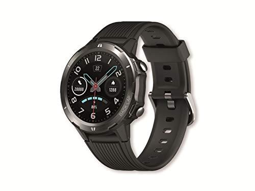 Denver SW-350 Bluetooth Smartwatch Sportlicher Aktivitäts-Tracker. Herzfrequenzsensor. Wasserundurchlässig Zeigt Benachrichtigungen vom Handy an. Kompatibel mit iOS und Android