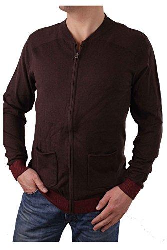 Timberland chaqueta para hombre de la cachemira Cardigan Hampton (Medium, Marron)