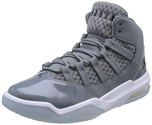 Nike Herren Jordan MAX Aura Basketballschuhe, Grau (Cool Grey/Black-White-Clear 010), 42.5 EU