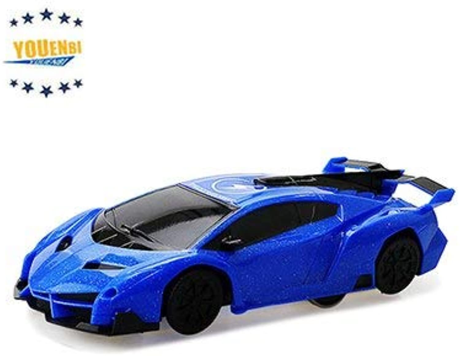 Generic Functional Radio Control Toys for Kids 1 28 Remote Control Stunt Car Wall Climbing rc Car bluee