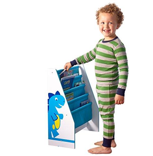 Dinosaurier Bücherregal für Kinderbücher - 6