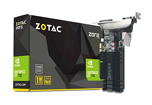 Zotac GeForce GT 710 1 GB DDR3 PCIE X1 Passive PCI de