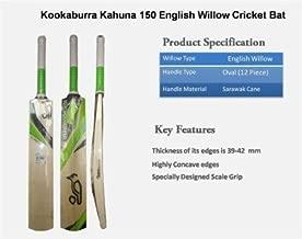 Kookaburra English Willow Premium Cricket bat ' Men's Size, Short Handle (2019 Series Edition)