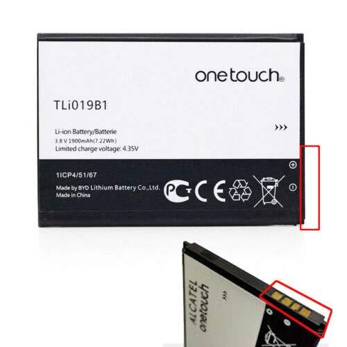 Givimusic batería Alcatel Original tli019b1tli019b2para Alcatel One Touch Pop C7