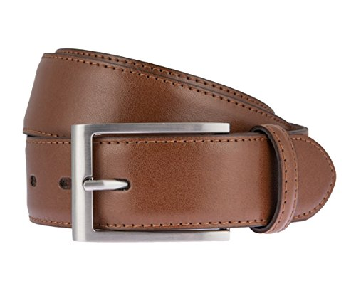 LLOYD Leder Gürtel 35 mm -kürzbar 11-Cognac BW-100