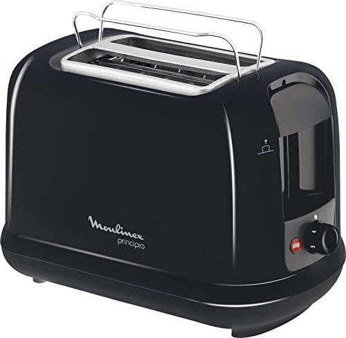 Moulinex LT1618 Toaster Principio, schwarz