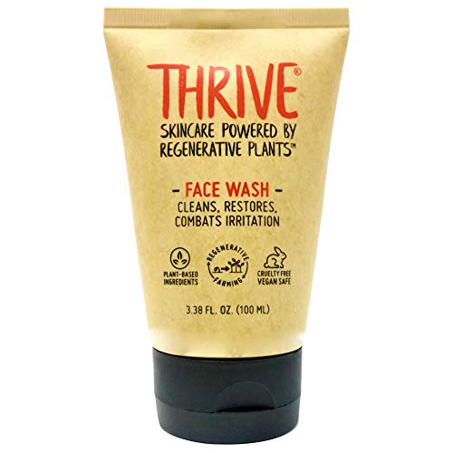 THRIVE Natural Face Wash Gel for Men & Women – Daily Facial Cleanser...