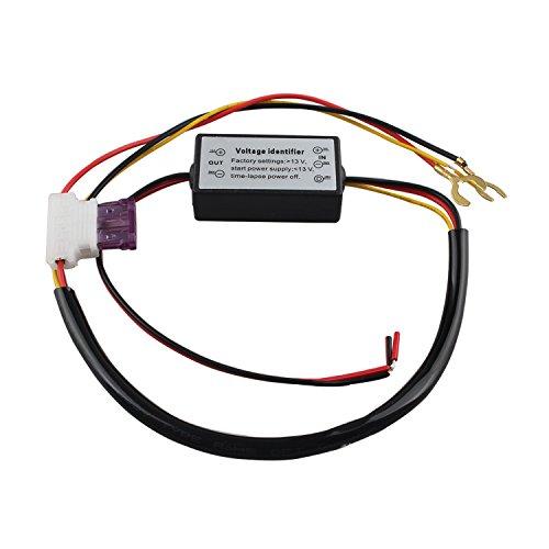 FUSD LED-Tagfahrlicht-Regler fürs Auto, DRL, automatischer Ein-/Aus-Schalter, 12 V Lichtrelais-Dimmer