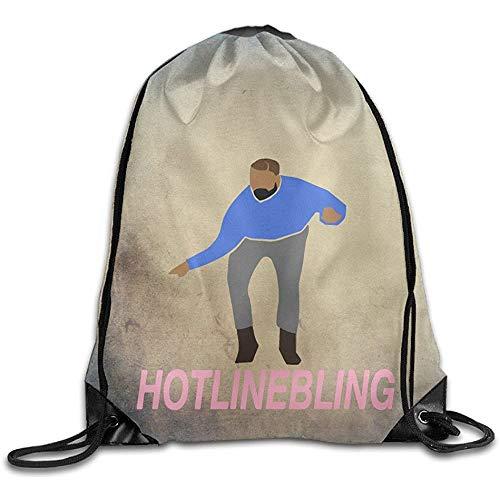 Medsforu Drake Hotline Bling Fashion Outdoor Rucksack Kordelzug