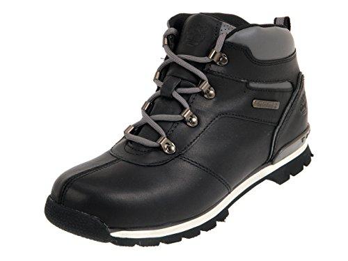 Timberland Unisex-Kinder Splitrock 2 Euro Hiker Chukka Boots, Schwarz (Black Smooth with Grey), 37 EU