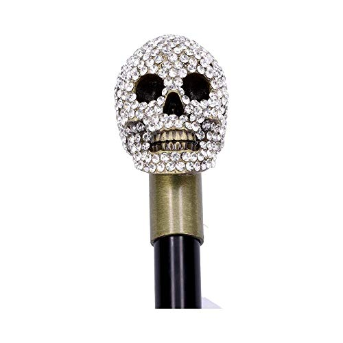 Nemesis Now Jewelled Grin Swaggering Caa 95 cm, Color Negro, Talla nica