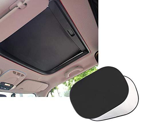 2 stuks autoramen zonneschermen auto schuifdak UV-stralingsbescherming raambescherming voor Mini Cooper 2007-2017 F55 R55 48 cm * 79 cm