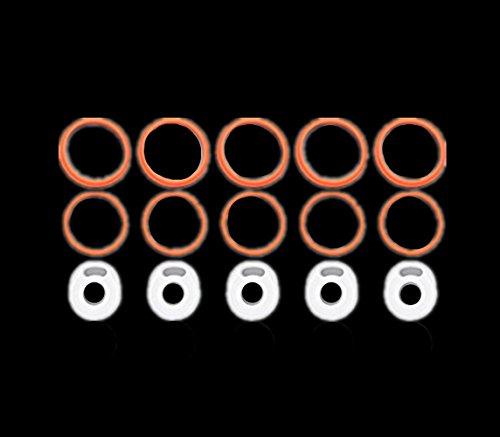 dekpro repuesto sellado anillo o anillo para Smok tfv8nube Bestia cigarrillo electrónico atomizador de accesorios tfv8Bestia sellos tfv8o anillos sello juntas de silicona (5Sets tfv8o anillo)