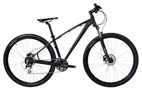 Tommaso Gran Sasso 29er Mounain Bike Hydraulic Disc Hardtail Best Looking MTB Matte Black 100mm Travel Suspension