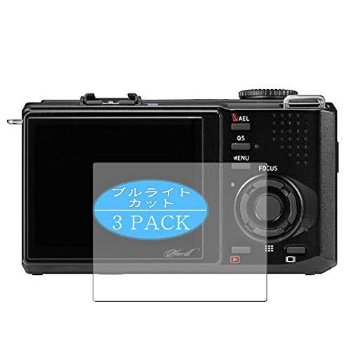 3枚 VacFun ブルーライトカット フィルム , シグマ SIGMA DP3 Merrill 向けの ブルーライトカットフィルム 保護フィルム 液晶保護フィルム(非 ガラスフィルム 強化ガラス ガラス ケース カバー ) ニュー