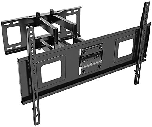OUWTE Soporte para TV, Soporte de Pared para TV para LED-LCD de 40-70'- televisores Planos y curvos 4K de hasta 60 kg Soporte Giratorio para TV con Nivel de Burbuja