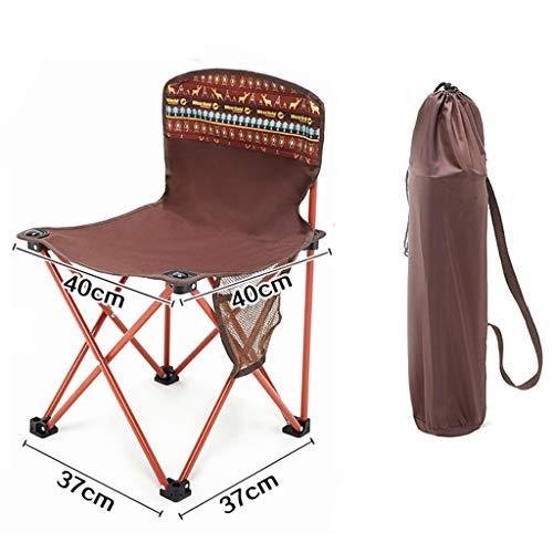 Klapstoel buiten, draagbaar, voor strand, vrije tijd, boot, kleine kruk, 120 kg