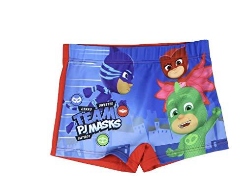 PJ Masks - Boxer da bagno Colore: rosso 98 Centimetro-104 Centimetro