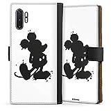 DeinDesign Étui Compatible avec Samsung Galaxy Note 10 Plus Étui Folio Étui magnétique Mickey...