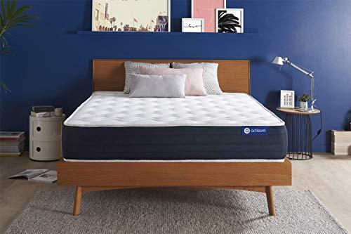 Materasso Actiflex sleep 180x210cm, Spessore : 22 cm, Molle insacchettate e memory foam, Bilanciato, 5 zone di comfort