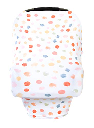Little Leo Premium Car Seat Covers for babies that can be used as a Nursing Cover Up, Stroller Cover, Shopping Cart Cover , High Chair Cover or Swing Cover