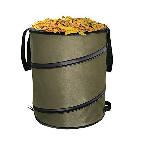 Bolsas de basura de jardín Bolsa de almacenamiento plegable portátil for jardín...