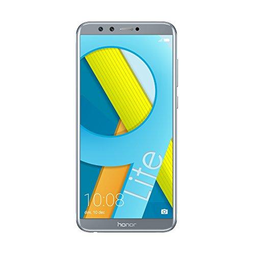 Honor 9 Lite Smartphone, Schermo 5.65  FHD+, 3 GB RAM, Doppia Fotocamera 13 e 2 MP, 32 GB, Grigio [Italia]