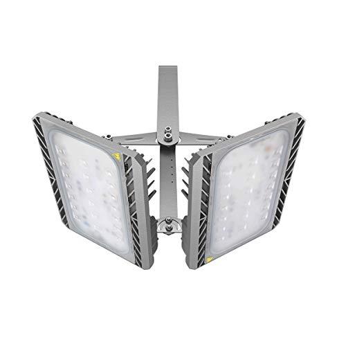 Gosun Projecteur LED 200W, IP65 Imperméable, 18000LM, Eclairage Extérieur LED, Equivalent à Ampoule Halogène 1300W, 3000K Blanc Chaud, Eclairage de Sécurité