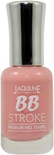 Jaquline USA Bb Stroke Premium Nail Enamel, Dare To Bare 07, 8 ml
