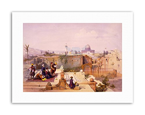 Wee Blue Coo Paintings Religion Islam Mosque OMAR Jerusalem Poster Painting Canvas Art Prints