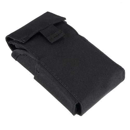Lixia-Danjia, Táctica de la munición Bolsas Molle 25 Round 12ga de munición de Calibre 12 Cartuchos de Escopeta Recargar Revista Bolsas Arma de la Caza de Accesorios (Color : Negro)