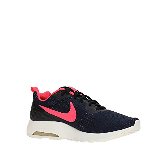 NIKE Air MAX Motion LW SE - Zapatillas Deportivas, Hombre, Negro - (Black/Solar Red-Sail-Pure Platinum)