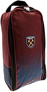 West Ham United F.C. Boot Bag Official Merchandise by West Ham United F.C.
