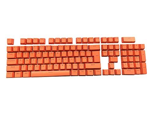 Feicuan 104 Tasti Keyset Keycap ABS Colorful retroilluminato Replacement Key cap Cover per Tastiera Meccanica da Gioco -Orange