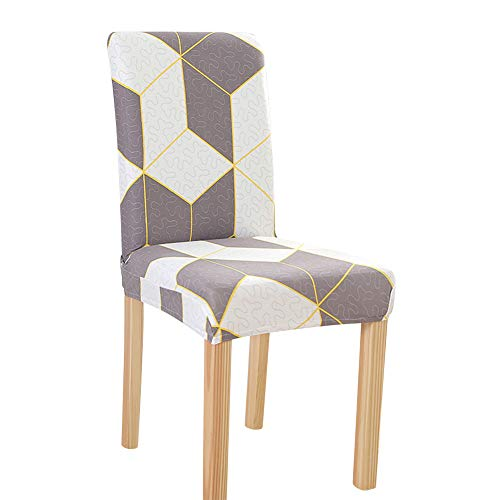 Protector de silla, parte inferior elástica, cómodo hecho de fibra de poliéster limpio para el comedor del hotel