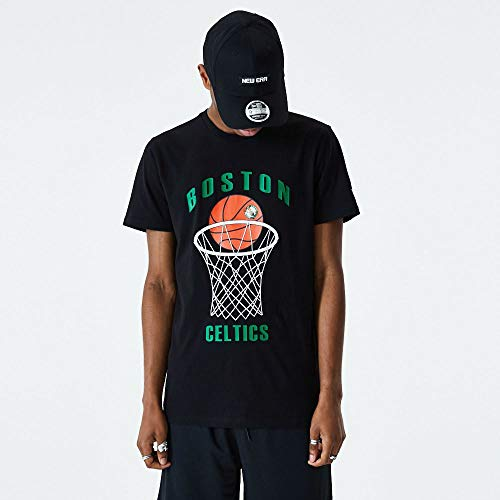 New Era Camiseta Boston Celtics Modelo NBA Basketball tee BOSCEL Marca