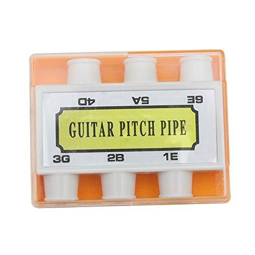 6-Töne Stimmpfeife Stimmgerät Pitch Pipe Tuner für Gitarre
