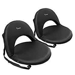 small Sportneer Stadium Tribune Seat A foldable 6-way chair with soft cushions to relax …