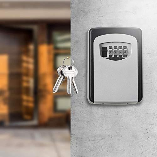 Caja de bloqueo de contraseña Caja de llaves Resistente a la intemperie anticorrosión, para garaje, para sala de fitness
