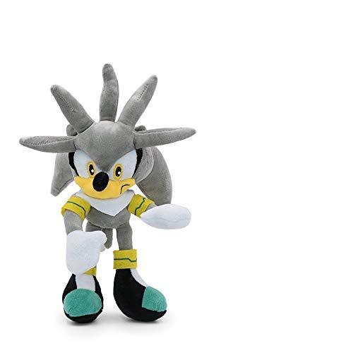 Cuina Sonic Pelush Doll 2020 30 cm Sonic Peluche Muñeca Juguetes Varios Roles Sonic Algodón Soft Soft Muñeca Juguetes para niños yuechuang