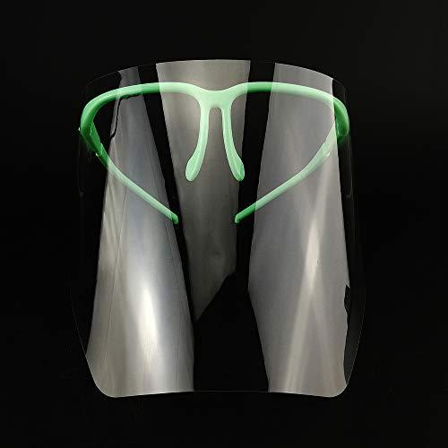 Vroegse Anti - Mist Oogkleding Verstelbare Afneembare Full Face Shield Masker met 10 afneembare vizieren Tandheelkundige