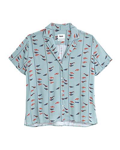 Brava Fabrics - Blusa Aloha - Blusa Aloha Estampada - Camisa