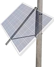 ECO-WORTHY Solar Panel Pole Mount Brackets Side-of-Pole Rack Mounting Brackets for 5W to 100W Solar Panels