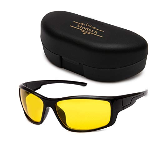 Modern HD Vision Day and Night Vision Goggles for Riding Bikes and Driving Sunglasses for Men Women Boys & Girls