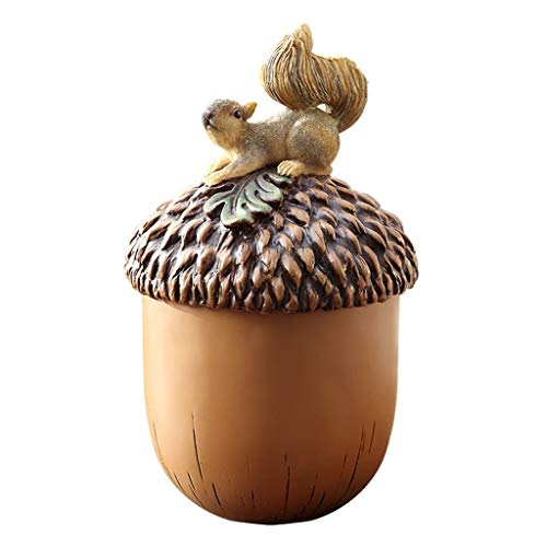 jinyi2016SHOP Cubo de Basura Escritorio Creativo Lindo Bote de Basura Personalidad Sala de Estar Hogar Cubo de Almacenamiento de escombros con Tapa Papeleras (Size : L)