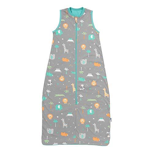 Schlummersack Kinderschlafsack für den Sommer in 0.5 Tog - Safari - 3-6 Jahre / 130 cm