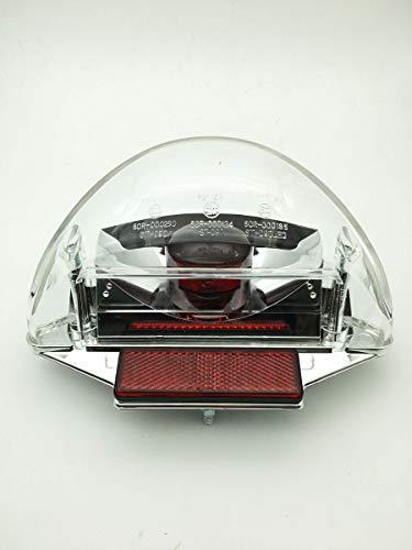 Achterlicht YAMAHA Aerox uni helder glas met reflectors