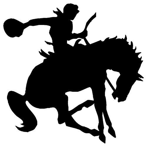 BLOUR 15.2 * 15.2CM Reiten Pferd Sport Persönlichkeit Auto Aufkleber Mode Dekorative Fenster Glas Aufkleber Aufkleber C4-0311