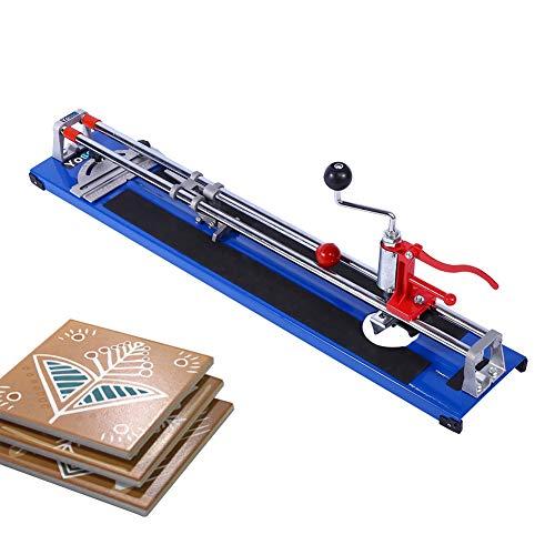 Cortador de piso de cerámica, tapetes antideslizantes Cortador de azulejos manual de diseño Escala transparente para cortar azulejos