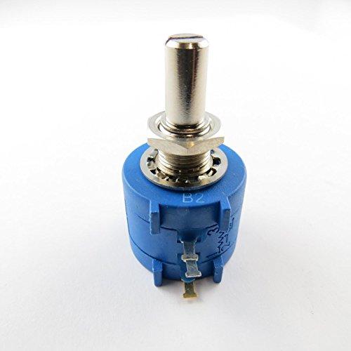Générique Potentiometer Dreh Multiturn 10 k Ohm 2 Watt 6,35 mm Linear